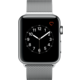 Apple Watch 2 42mm Stainless Steel Case with Silver Milanese Loop