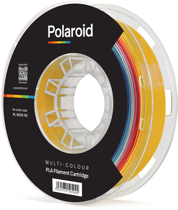Polaroid 3D 500g Universal Premium PLA 1,75mm, vícebarevná