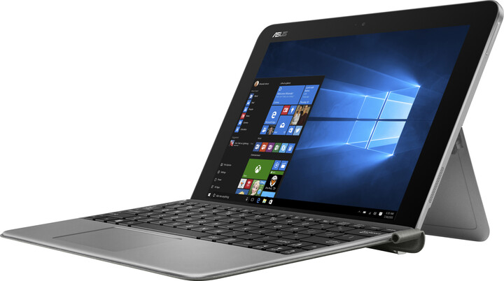 ASUS Transformer Mini T102HA, bílo-šedá
