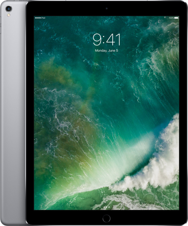 Apple iPad Pro Wi-Fi + Cellular, 12,9'', 64GB, šedá
