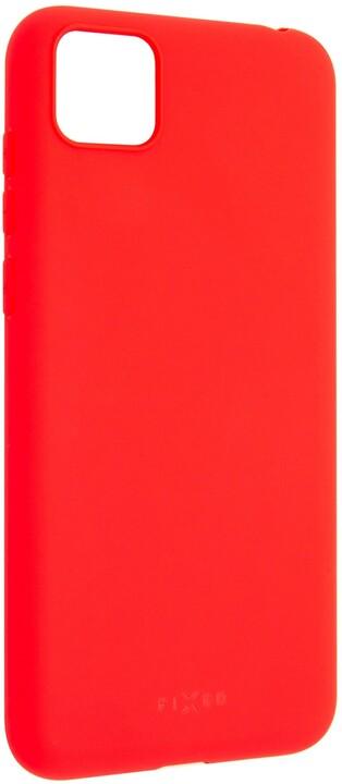 FIXED Story zadní pogumovaný kryt pro Huawei Y5p, červená