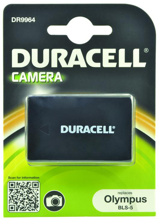 Duracell baterie alternativní pro Olympus BLS-5