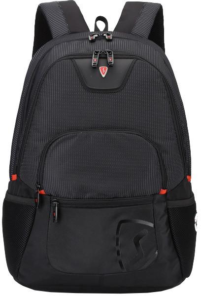 SUMDEX RED(S) batoh pro notebok BP-305BK, černý