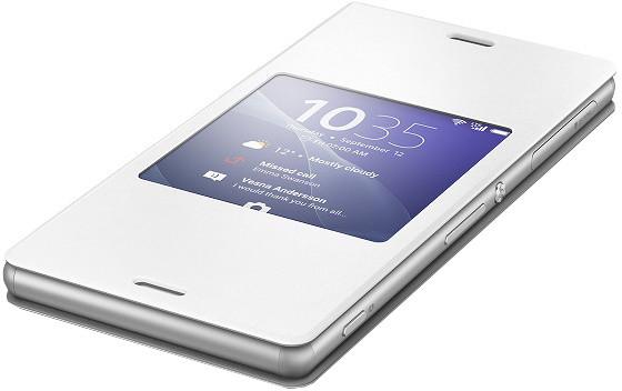 Sony pouzdro pro Xperia Z3, bílá