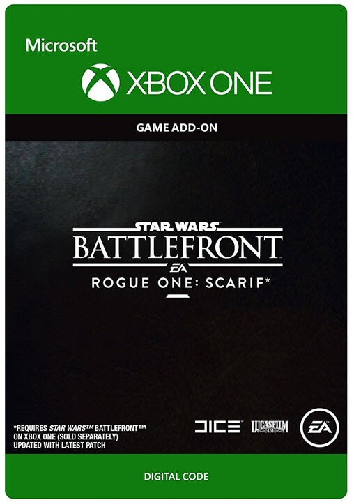 Star Wars: Battlefront - Rogue One: Scarif (Xbox ONE) - elektronicky