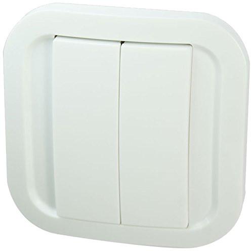 Fibaro NodOn Wall Switch, bateriové 4tlačitko na zeď, bílá