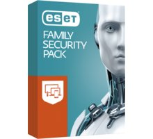 ESET Family Security Pack  + 300 Kč na Mall.cz