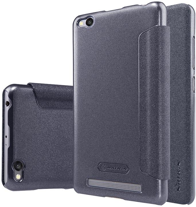Nillkin Sparkle Leather Case pro Xiaomi Redmi 3/3S, černá