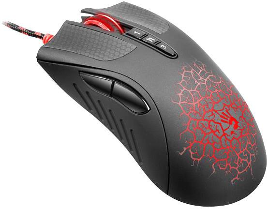 A4Tech BLOODY AL9 laserová herní myš, CORE 2