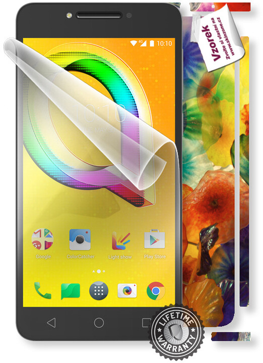 ScreenShield fólie na displej + skin voucher (vč. popl. za dopr.) pro ALCATEL 5085D A5 LED