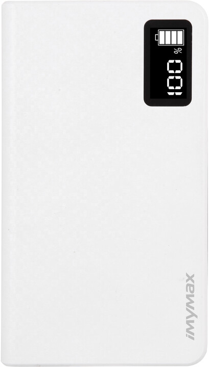 iMyMax Business Power Bank 10.000mAh, bílá
