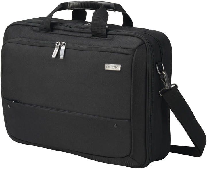 """DICOTA Top Traveller ECO Dual SELECT - brašna na notebook - 14"""" - 15.6"""" - černá"""