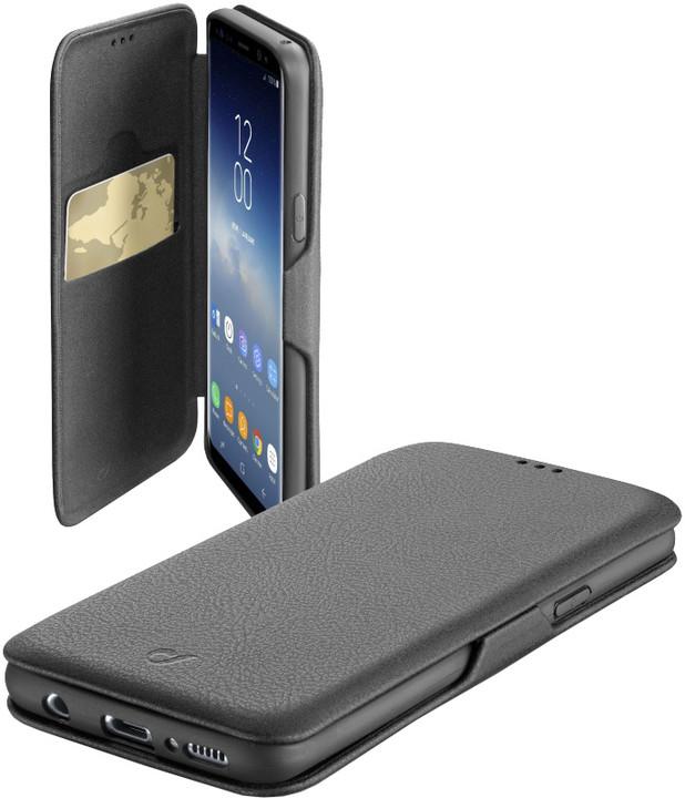 CellularLine pouzdro typu kniha Book Clutch pro Samsung Galaxy S9, černá