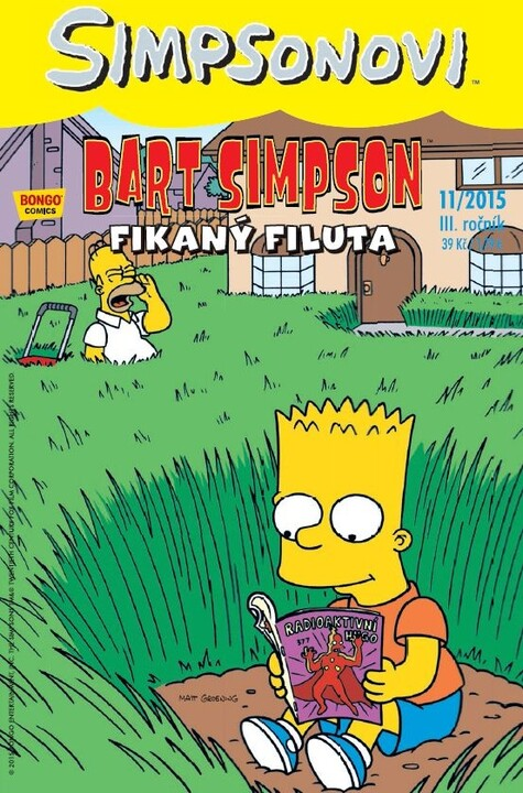 Komiks Bart Simpson: Fikaný filuta, 11/2015