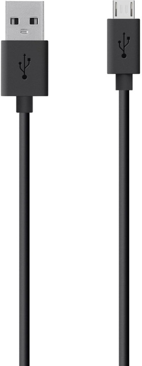 Belkin Mixit USB/microB, 2m, černá