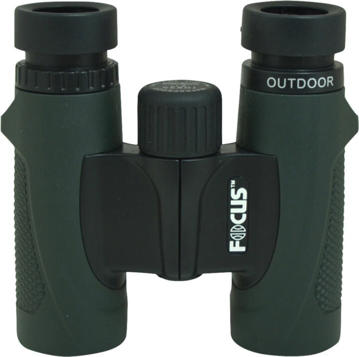 Focus Outdoor 10x25, zelený