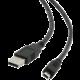Gembird CABLEXPERT kabel USB A-MINI 5PM 2.0 1,8m HQ zlacené kontakty, černá