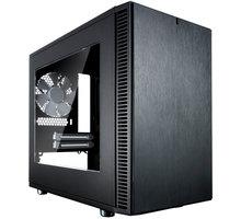 Fractal Design Define Nano S, průhledná bočnice O2 TV Sport Pack na 3 měsíce (max. 1x na objednávku)