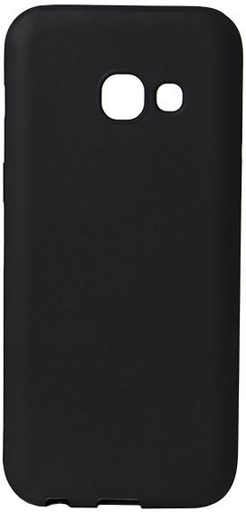 EPICO plastový kryt pro Samsung Galaxy A3 (2017), SILK MATT - černý