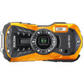 RICOH WG-50, oranžová + plovací řemínek + neoprénové pouzdro