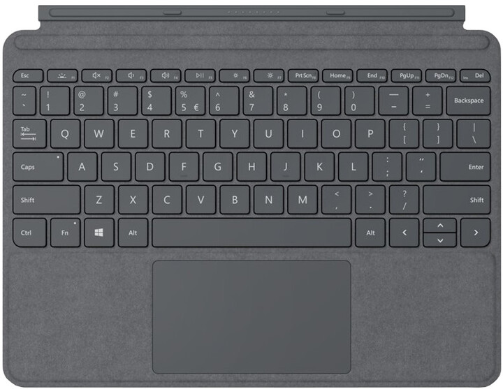 Microsoft Type Cover pro Surface Go, ENG, charocoal