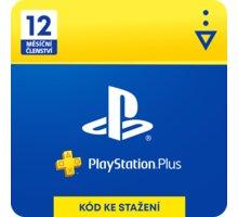 PlayStation Plus 12 měsíců - Dárková karta - elektronicky