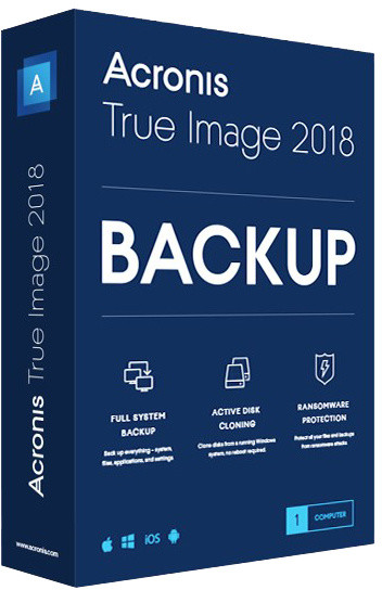 Acronis True Image Advanced Subscription CZ pro 1 PC + 250GB Acronis Cloud Storage