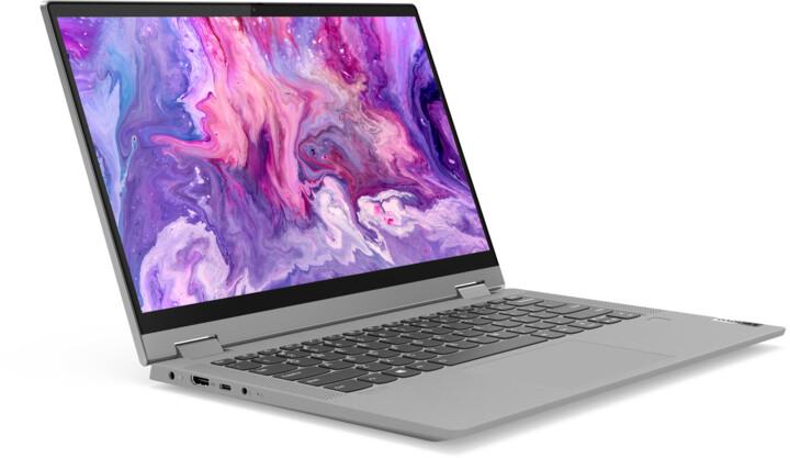 Lenovo IdeaPad Flex 5-14ARE05, šedá + dotykové pero