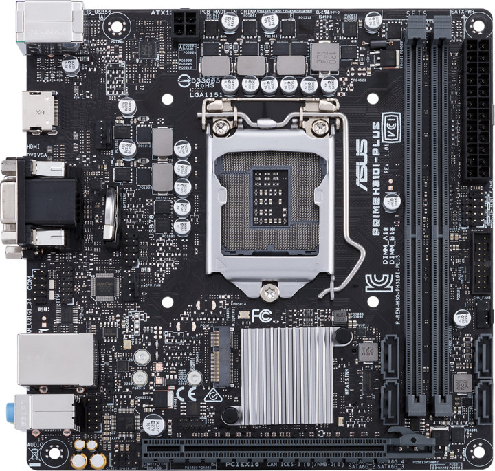 ASUS PRIME H310I-PLUS - Intel H310