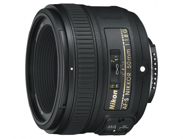 Nikon objektiv Nikkor 50mm f1.8 G AF-S