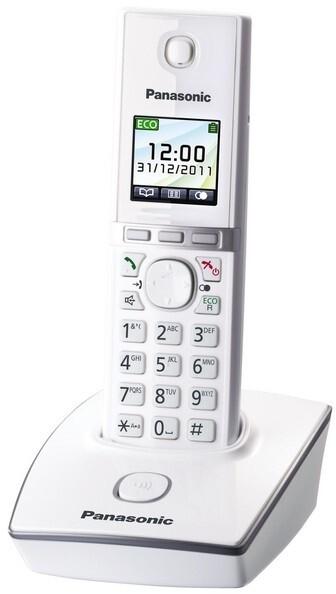 Panasonic DECT KX-TG8051FXW, bílá