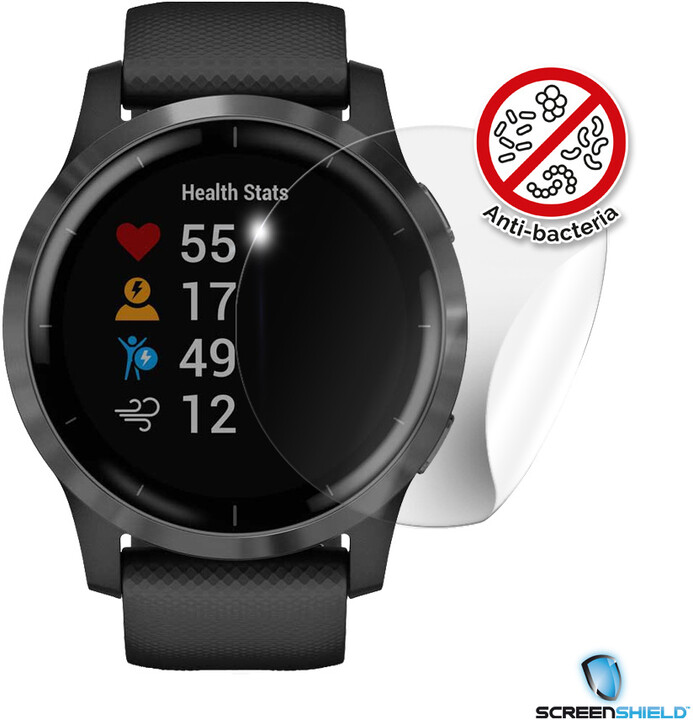 Screenshield fólie na displej Anti-Bacteria pro GARMIN Vívoactive 4