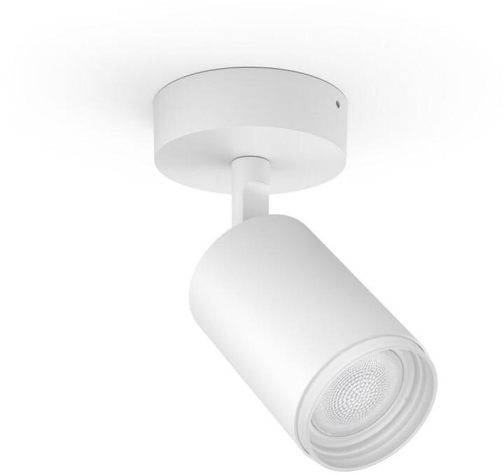 Philips bodové svítidlo Hue Fugato GU10, 5.7W, bílá