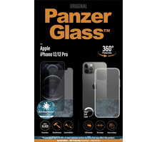 PanzerGlass Bundle ochranné sklo Standard pro iPhone 12/12 Pro + TPU zadní kryt - B2708