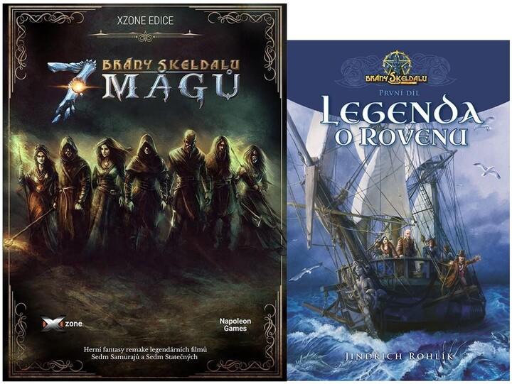 Brány Skeldalu: 7 mágů (PC) + kniha Brány Skeldalu I.: Legenda o Rovenu