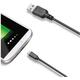 CELLY Oboustranný datový USB kabel s konektorem microUSB
