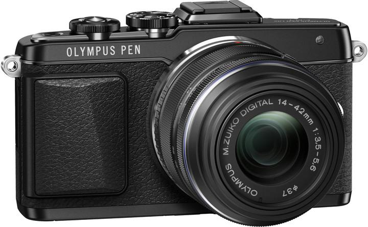 Olympus E-PL7 + 14-42 mm EZ, černá