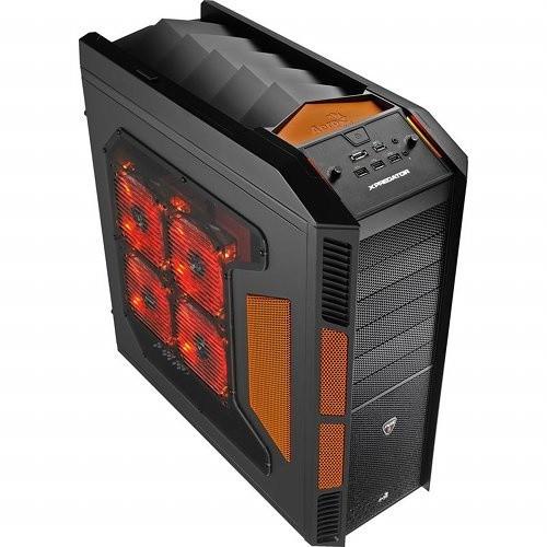 AeroCool Xpredator Evil Black (black/orange)