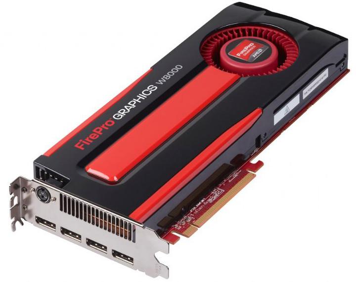 Sapphire AMD FirePro W8000 4GB