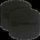 Scosche MagicPlate XL výměnné a doplňující magnetické štítky, černé