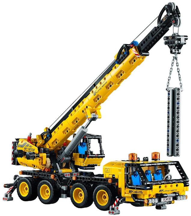 LEGO® Technic 42108 Pojízdný jeřáb
