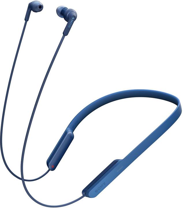 Sony MDR-XB70BT, modrá