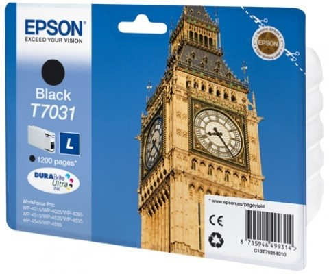 Epson C13T70314010, L, Black