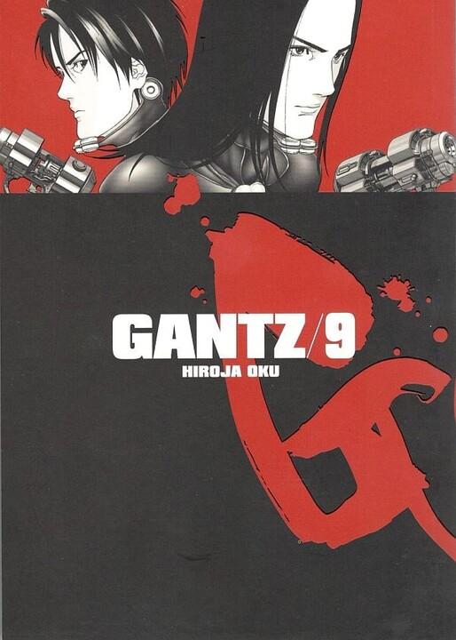 Komiks Gantz, 9.díl, manga