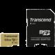 Transcend Micro SDXC 500S 128GB 95MB/s UHS-I U3 + SD adaptér