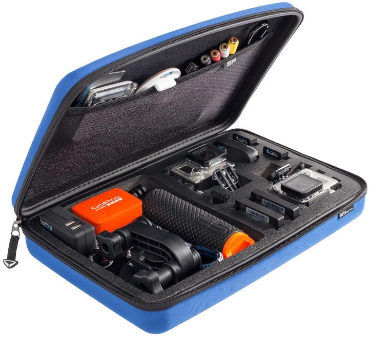 SP POV pouzdro pro GoPro-Edition 3.0, L, modrá