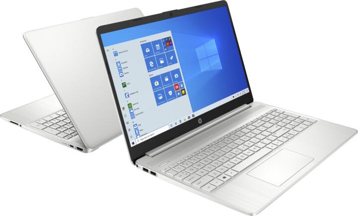 HP 15s-eq1006nc, stříbrná