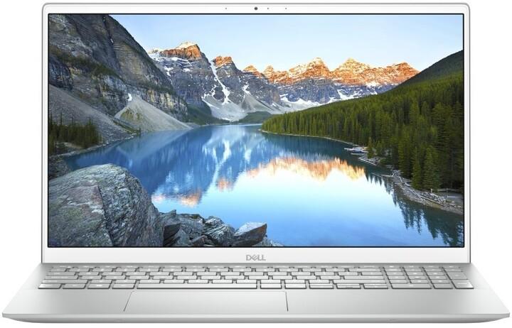 Dell Inspiron 15 (5502), stříbrná