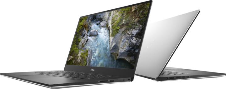 Dell XPS 15 (9570) Touch, stříbrná
