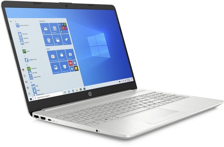 HP 15-gw0002nc, stříbrná